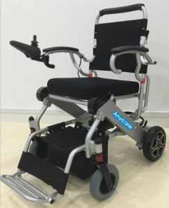 Folding Power Electric Wheelchair Hzw5513 pictures & photos
