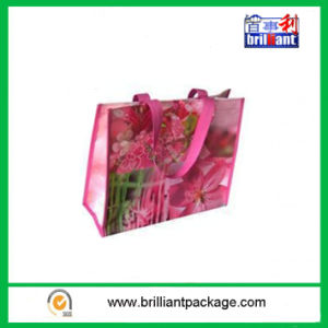 Recyclable Laminated PP Woven Shopping Trolley Bag pictures & photos