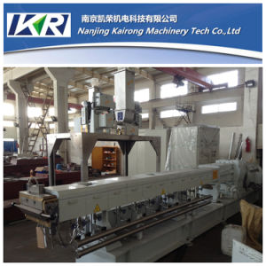 PU PVC TPR Sole Twin Screw Plastic Granules Making Machine pictures & photos