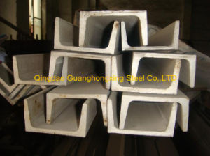 Q235B/Q345b/Ss400 Hot Rolled Steel Channel pictures & photos