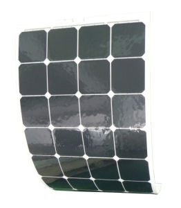 Best Factory Price Semi Flexible Solar Panel 100W pictures & photos