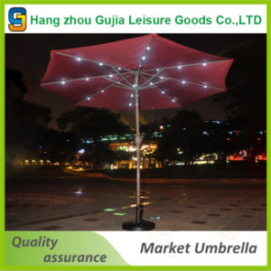 Deluxe 9′ Outdoor Patio Umbrella with Crank and Air Vent pictures & photos