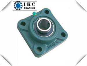 "4-Bolt Square Flange Ucf 1-1/2"", 1-9/16"", 1-5/8"" Pillow Block Bearing pictures & photos"