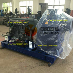 Heavy Duty Trailer Mounted Diesel Engine Sewage Water Pump pictures & photos
