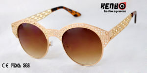 Trendy Design Latest Metal Sunglasses for Accessory Km15134 pictures & photos