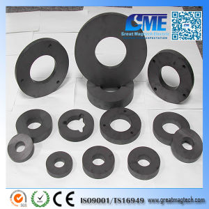 D134xd57X12mm Y30 Axial Magnet Ring Ferrite Magnet pictures & photos