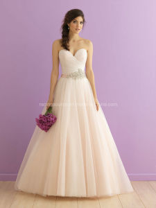 Sweetheart Organza Princess Prom Dress Wedding Bridal Dresses pictures & photos