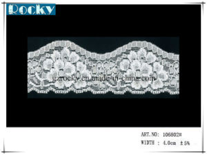 White Fancy Trimming African Lace Wedding Guipure Lace pictures & photos