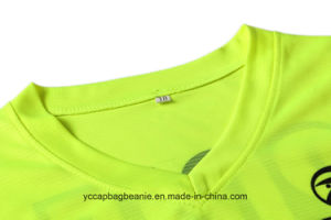 Wholesale Ladies or Women Jersey V-Neck T-Shirts pictures & photos