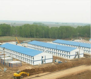 Prefabricated Container House for Mining Camp Project Worldwide pictures & photos