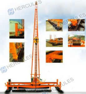 Hydraulic Foot-Step Wick Drain Driver pictures & photos