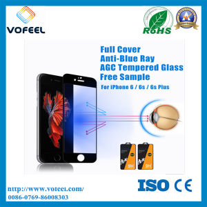 Full Screen Cover! ! Mobile Phone Anti Blue Light 0.33mm Tempered Glass Screen Protector for iPhone 6 Plus