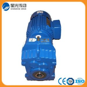 Helical Reducer 12V DC Motor with Gearbox pictures & photos