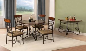 3348 Metal Dining Set pictures & photos