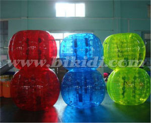 Full Color 1.5 Dia TPU Inflatable Body Bumper Ball D5090 pictures & photos