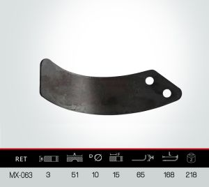 Rotavator Blade, Rotovator Blade pictures & photos
