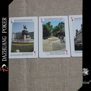 Custom Poker Cards for Bulgaria Scenery pictures & photos
