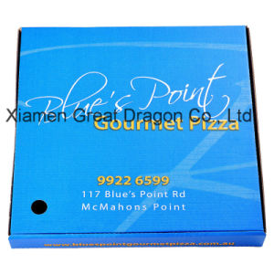 Locking Corners Pizza Box for Stability and Durability (PPB121) pictures & photos