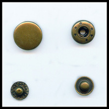 Decorative Brass Snap Button with Custom Logo pictures & photos