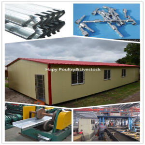 Cost Efficient Prefabricated Warehouse/Workshop Building (HAPY-01) pictures & photos