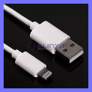 Factory Price Od3.0 8pin Lightning USB Data Charge Cord Mfi Cable for iPhone 6 6 Plus iPad Mini 3 Air 2 pictures & photos