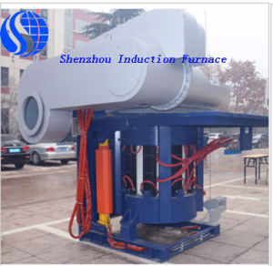 Small Aluminum Oven Hydraulic Tilting Furnace