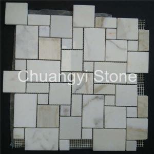 China Supplier Decorative Wall Panels Wall White Marble Mosaic