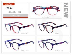 Fashion Style New Design Acetate Whole Stock Eyewear Glasses 17084 pictures & photos