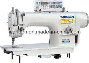 Wd-9000da Direct Drive Lockstitch Sewing Machine with Automatic Trimmer pictures & photos