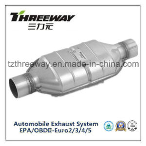 Car Exhaust System Three-Way Catalytic Converter #Twcat033 pictures & photos