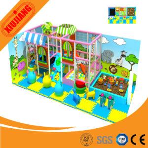 Plastic Children Indoor Playground Slide Equipment (XJ5050) pictures & photos