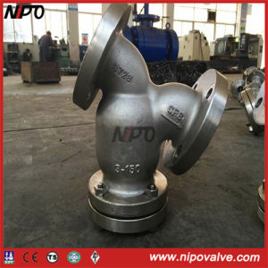 Cast Steel Stainless Steel Flanged Y Type Strainer pictures & photos