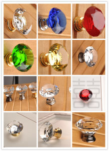 K9 Clear Crystal Kitchen Cabinet Knobs Crystal Glass Knob pictures & photos