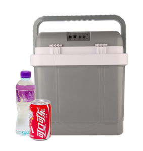 Electronic Mini Fridge 25liter DC12V, AC100-240V with Cooling and Warming for Car, Office or Home Use pictures & photos