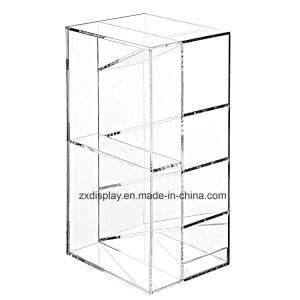 Modern Clear Acrylic Office Desktop Letter Mail Sorter / Pen & Pencil Holder pictures & photos