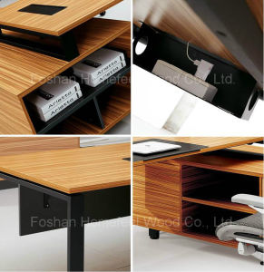 2015 New Deisgned Manager Table Boss Table Office Desk (HF-YZ012) pictures & photos