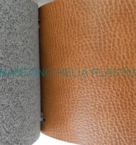 PU Synthetic Microfiber Leather for Shoes Price pictures & photos