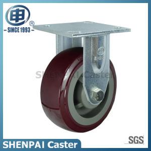 5 Inch Polyurethane Rigid Caster Wheel pictures & photos