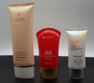 High Quality Plastic Cosmetic Tube, Elegant End Opened Liquid Foundation Packaging pictures & photos