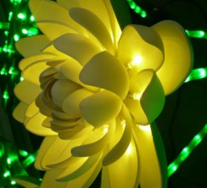 Solar Garden Lights Flower Christmas Light Show Outdoor Decorations pictures & photos