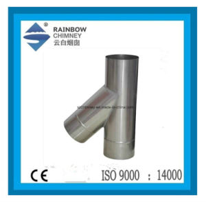 Chimney Pipe - 45 Degree Single Wall Tee pictures & photos
