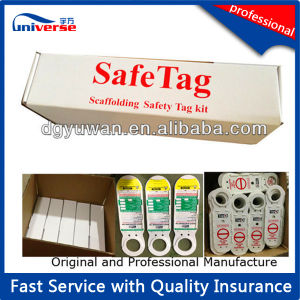 Tagging System for Plastic Scaffolding Holder Tags pictures & photos