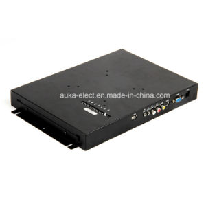 """12.1"""" LCD Metal Housing Monitor with 4-Wire Resistive Touch Panel pictures & photos"""