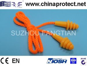 Security Anti-Noise Foamm High Quality PU Earplug pictures & photos