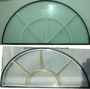 Double Glazed Panel with Cross Bar pictures & photos