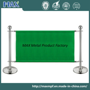Stainless Steel Double Pole Banner Stanchion pictures & photos