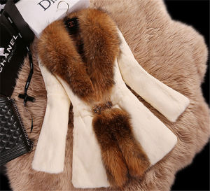 Custom Fur & Leather Fox Fur Coat Women Coat High Quality Supplier/OEM/ODM pictures & photos
