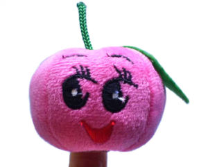 Super Cute Mini Fruit and Vegetable Plush Kids Finger Puppets pictures & photos