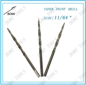 "Taper Point Drill Bit Size: 9/64"" pictures & photos"