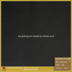 Leechee Semi-PU Leather for Sofa (SFB015) pictures & photos